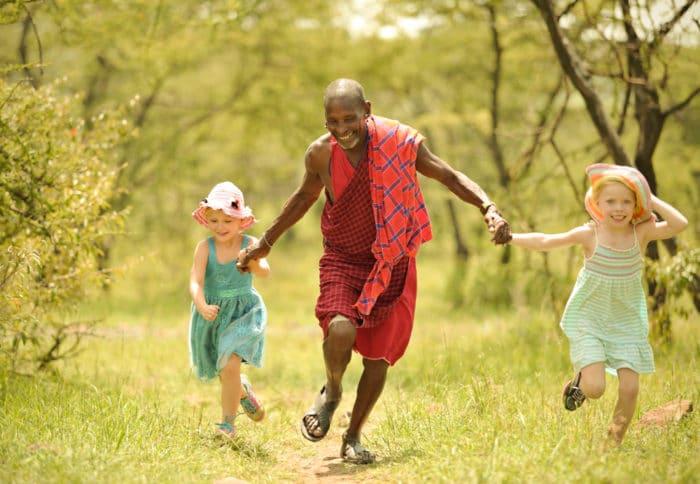 Fun with the Maasai in Tanzania