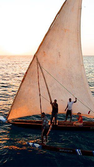 Pemba Island sundowner